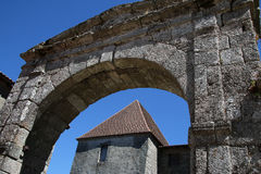 Ancient Architecture, Mortemart, France Royalty Free Stock Photo