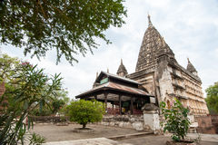 Ancient architecture of old Buddhist Temples at Bagan Kingdom, M Royalty Free Stock Photo