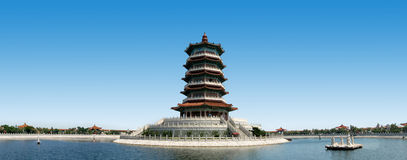 Ancient Architecture: pagoda Royalty Free Stock Photography