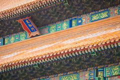 Ancient architecture of the palaces complex in the Forbidden Cit. Y, Beijing, China Royalty Free Stock Photography