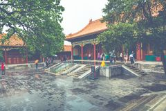 Ancient architecture of the palaces complex in the Forbidden Cit. Y, Beijing, China Stock Photos
