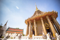 Ancient architecture at Phra Phutthabat temple in Thailand Stock Image