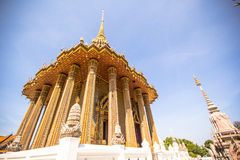 Ancient architecture at Phra Phutthabat temple in Thailand Royalty Free Stock Photo