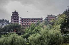 Ancient architecture in Sichuan Royalty Free Stock Images