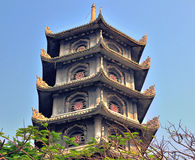 Ancient architecture of Vietnam Royalty Free Stock Images