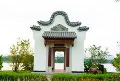 Ancient architecture(China Huizhou architecture) Stock Photo
