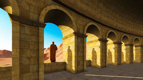 Ancient archway Royalty Free Stock Photos