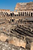 Ancient arena of gladiator Colosseum in city of Rome, Italy. ROME, ITALY - JUNE 24, 2017:  Ancient arena of gladiator Colosseum in city of Rome, Italy Stock Photo