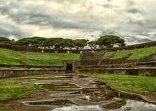 Ancient arena in Pompeii Royalty Free Stock Images