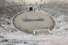 Ancient arena of Verona Stock Images