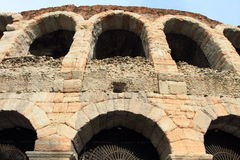 Ancient arena of Verona Royalty Free Stock Photography