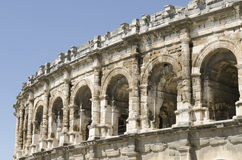 Ancient arenas of Nimes Royalty Free Stock Photography