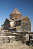 Ancient armenian church on lake sevan armenia Stock Images
