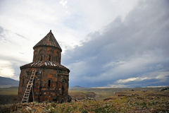 Ancient armenian church Stock Images