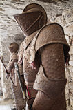 Ancient armors. Royalty Free Stock Photography