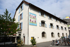 The ancient armory of Lucerne. Lucerne, Switzerland - May 02, 2016: The ancient armory of Lucerne nowadays it houses the Museum of History that presents the Royalty Free Stock Photography