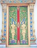 Ancient art door Stock Photography