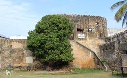 Ancient art gallery. The ancient art gallery of Stone Town,Zanzibar Stock Photo