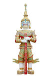 Ancient art Giant. Ancient Thailand art Giant ,isolated Royalty Free Stock Photography