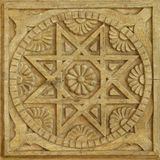 Ancient art pattern Royalty Free Stock Photo