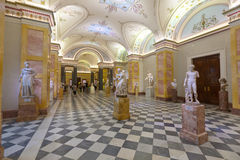 Ancient art in State Hermitage. Saint Petersburg Royalty Free Stock Photography