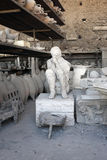 Ancient Artifacts From Pompeii Stock Photos