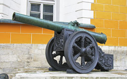 Ancient artillery Cannons In The Moscow Kremlin, Russia Stock Image
