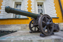 Ancient artillery Cannons In The Moscow Kremlin Stock Photography