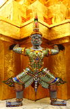 Beautiful ancient arts of Thailand. Ancient arts in the temple of Thailand Stock Image