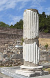 Ancient Asclepio at Kos island in Greece Stock Image