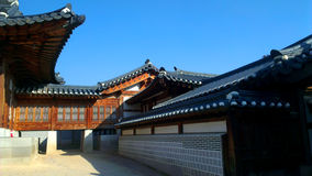 Ancient Asian Architecture , South Korea Royalty Free Stock Photography