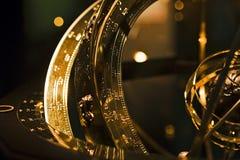 Ancient astronomical device detail Stock Photos