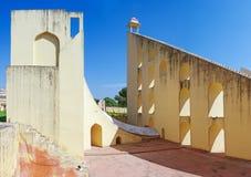 Jantar Mantar astronomical observatory in Japiur, India Stock Images