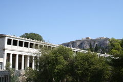 Ancient Athens Royalty Free Stock Photo