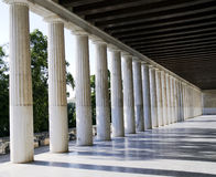 Stoa of Attalos in Athens Greece Stock Photography