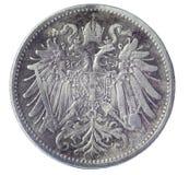 Ancient Austrian coin Stock Photos