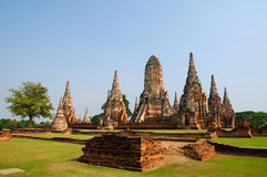 Ancient Ayutthaya. Ancient temple at Ayutthaya thailand royalty free stock images