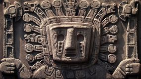 Ancient Aztec Stone Carving