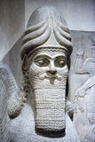 Ancient Babylonia and Assyria sculpture from Mesopotamia. Ancient Babylonia and Assyria sculpture painting from Mesopotamia Royalty Free Stock Photography