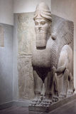 Ancient Babylonia and Assyria sculpture from Mesopotamia. Ancient Babylonia and Assyria sculpture painting from Mesopotamia Stock Photo