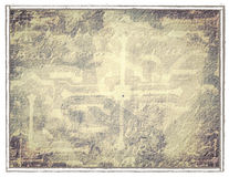 Ancient background. Ancient abstract background with ornaments Stock Images