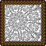 Ancient Background. Abstract Ancient Background made in adobe illustrator Royalty Free Stock Photo