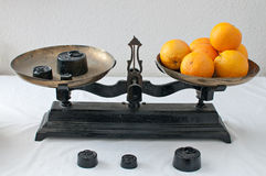 Ancient balance Stock Images