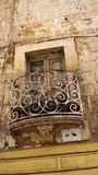 Ancient balconies in the ancient city of Valletta, Malta. Ancient balconies in the ancient city of Valletta, Malta Royalty Free Stock Photo