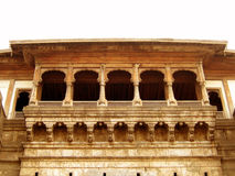 Ancient Balcony. An old balcony of any ancient Indian fort Royalty Free Stock Photos