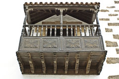 Ancient balcony Royalty Free Stock Images