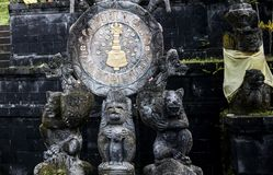 Ancient Bali. Ancient god and Demon in Bali Indonesia stock image