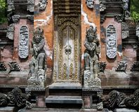 Ancient Bali. Ancient god and demon in Bali Indonesia royalty free stock image