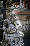 Ancient Bali. Ancient god and demon in Bali Indonesia stock photos