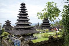 Ancient Bali. Ancient temple in Bali Indonesia stock images